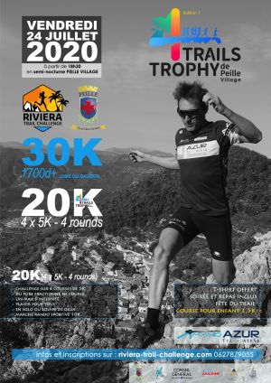 4 Trails Trophy de Peille - Alpes Maritimes